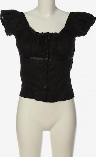 Sunichi Schlupf-Bluse in S in schwarz, Produktansicht