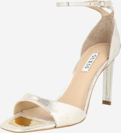 Sandale cu baretă 'DIVINE' GUESS pe argintiu, Vizualizare produs