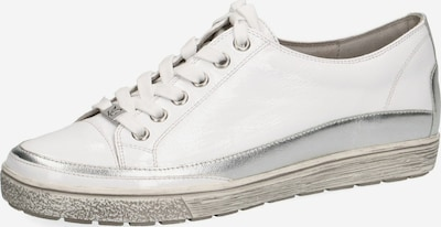 CAPRICE Sneakers in Silver / natural white, Item view
