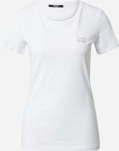 LIU JO JEANS T-shirt en blanc, Vue avec produit