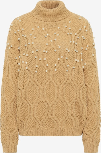 faina Sweater in Light brown / Pearl white, Item view