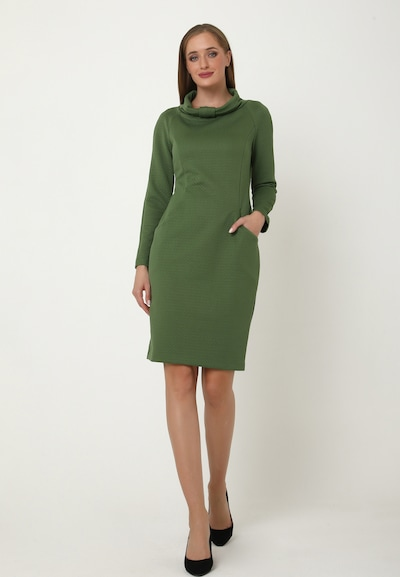 Madam-T Sheath Dress 'Primadonna' in Green, View model