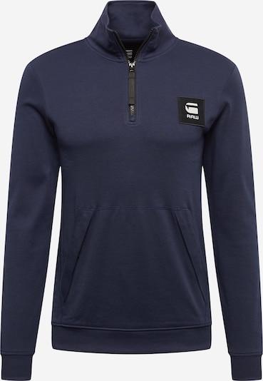 G-Star RAW Sweatshirt in de kleur Donkerblauw / Wit, Productweergave