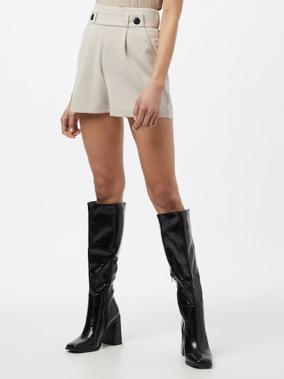 JACQUELINE de YONG Панталон с набор 'GEGGO' в светлосиво: Изглед отпред