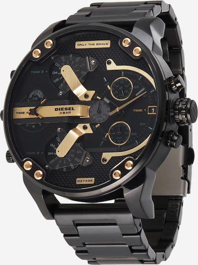 DIESEL Analoginen kello värissä kulta / musta, Tuotenäkymä