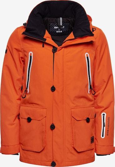 Superdry Sportjas in de kleur Sinaasappel / Zwart, Productweergave
