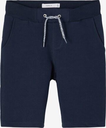 Pantaloni 'NKMHonk' de la NAME IT pe albastru