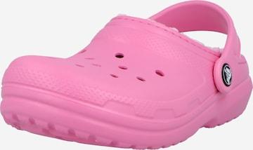 Ciabatta di Crocs in rosa