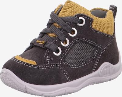 SUPERFIT Sneaker 'UNIVERSE' in senf / dunkelgrau, Produktansicht