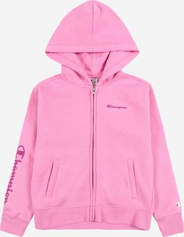 rozā Champion Authentic Athletic Apparel Sportiska jaka