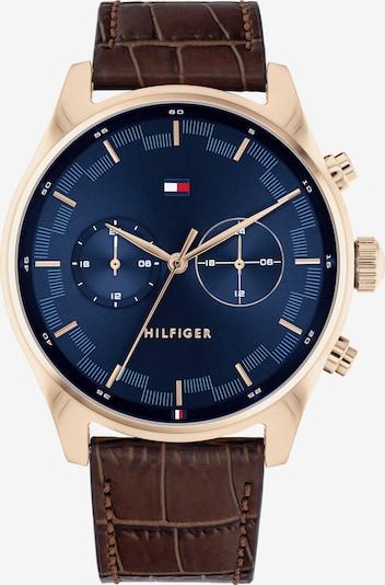 TOMMY HILFIGER Armbanduhr in braun, Produktansicht