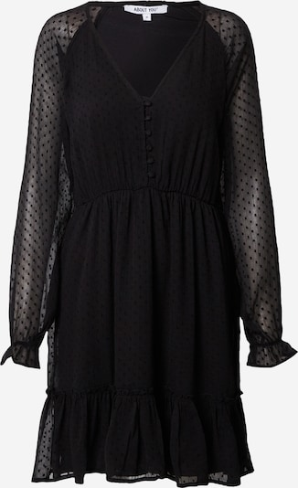 ABOUT YOU Shirt dress 'Tia' in black, Item view