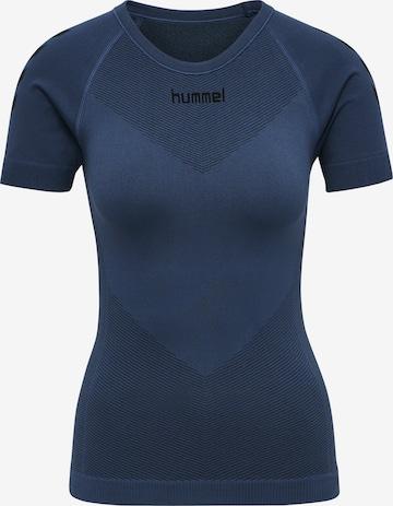 Hummel Functioneel shirt in Blauw