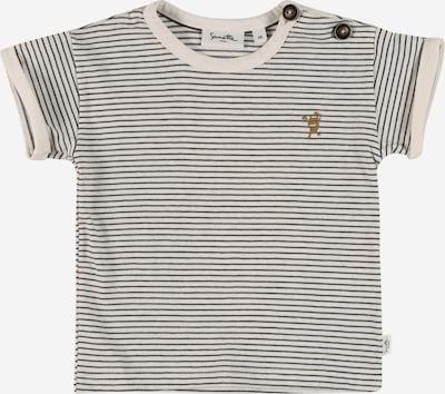 Sanetta Pure T-Shirt en noir / blanc, Vue avec produit