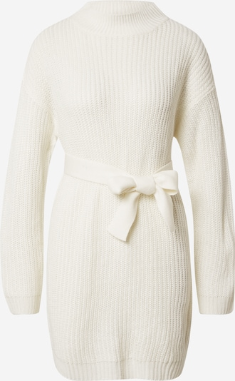 Missguided Knit dress in off white, Item view