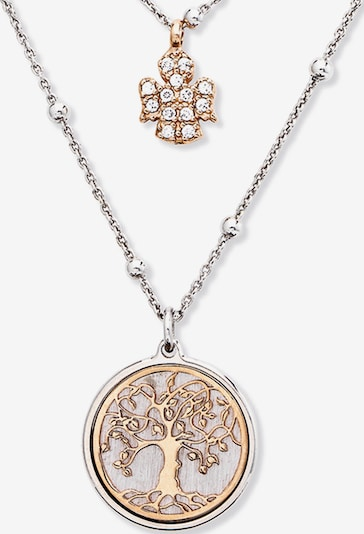 Amen Kette in bronze / silber, Produktansicht