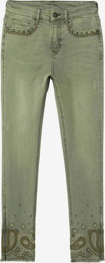 Desigual Jeans in de kleur Olijfgroen, Productweergave