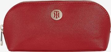 TOMMY HILFIGER Чанта за козметика 'Honey' в червено