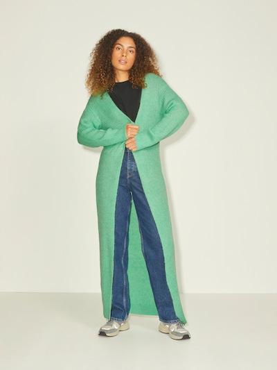 JJXX Manteau en tricot 'JXEA' en vert clair, Vue avec modèle