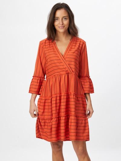 Rochie VILA pe portocaliu / negru, Vizualizare model