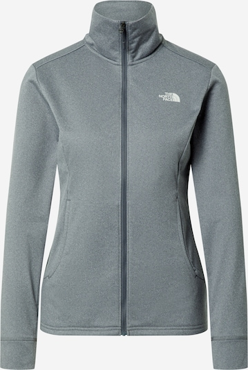 THE NORTH FACE Sportsweatjacke 'QUEST' in grau, Produktansicht