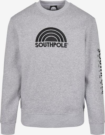 SOUTHPOLE Sweatshirt 'Halfmoon' in anthrazit / graumeliert, Produktansicht