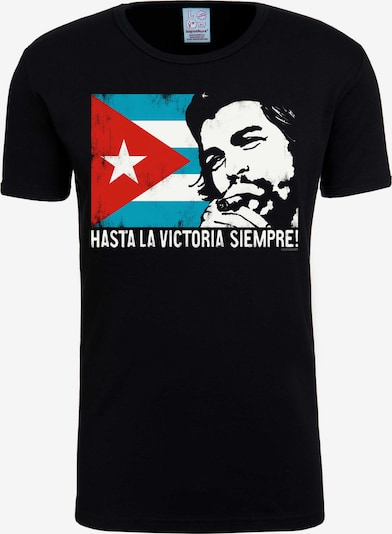 LOGOSHIRT T-Shirt 'Che - Cuban Flag' in mischfarben / schwarz, Produktansicht