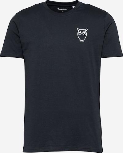 KnowledgeCotton Apparel T-Shirt 'ALDER' in kobaltblau, Produktansicht
