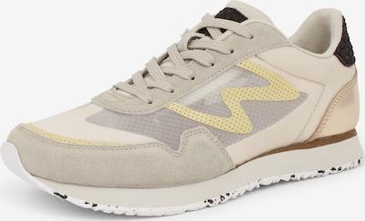 WODEN Sneaker 'Naja' in beige / gelb, Produktansicht