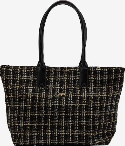 faina Shopper in gold / schwarz, Produktansicht