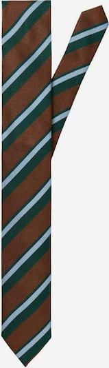 SELECTED HOMME Cravate en bleu marine / bleu clair / bourgogne, Vue avec produit