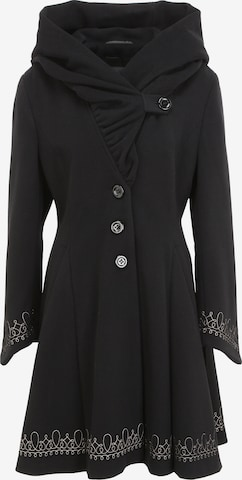 ERICH FEND Winter Coat 'ALVY-3' in Black