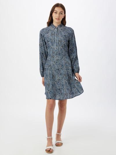 NÜMPH Kleid 'CLARKE' in blau / saphir / weiß, Modelansicht