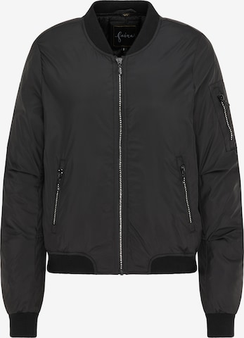faina Between-Season Jacket in Black