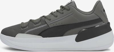 PUMA Athletic Shoes 'Clyde Hardwood Team' in Dark grey / Black, Item view