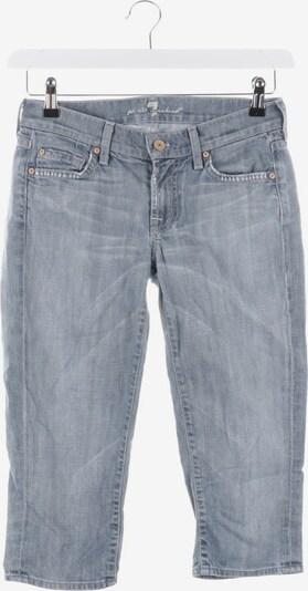 7 for all mankind Jeansbermuda  in XS in rauchblau, Produktansicht