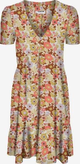 Noisy may Kleid 'Nika' in kastanienbraun / helllila / pitaya, Produktansicht
