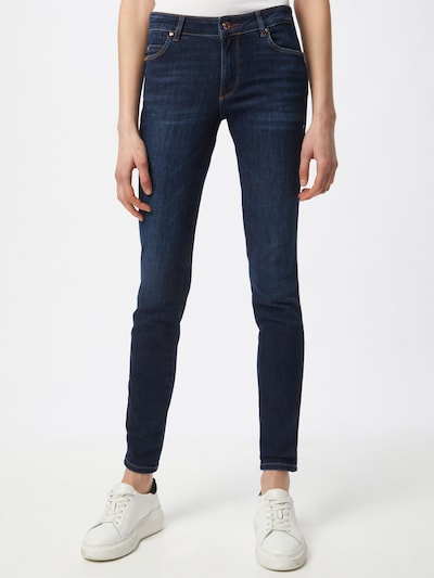 GUESS Jeans in de kleur Donkerblauw, Modelweergave