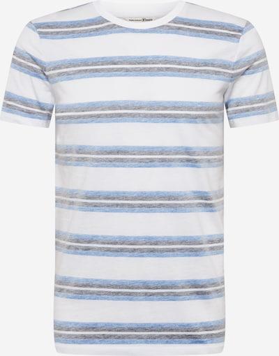 TOM TAILOR DENIM Shirt in de kleur Blauw / Wit, Productweergave
