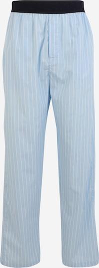 Resteröds Pyjamahose in hellblau / dunkelblau / weiß, Produktansicht