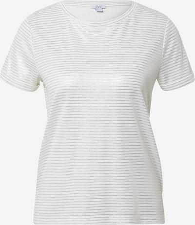 OVS T-Shirt in silber / weiß, Produktansicht