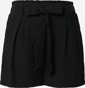 SISTERS POINT Plissert bukse 'MENA-SHO' i svart