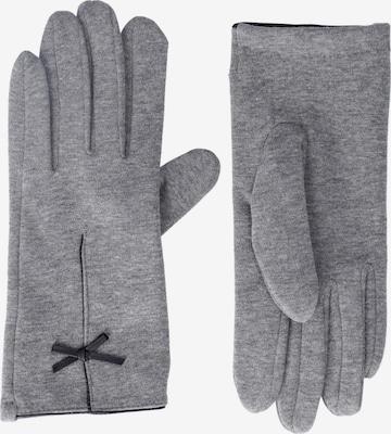 Six Full Finger Gloves in Grey