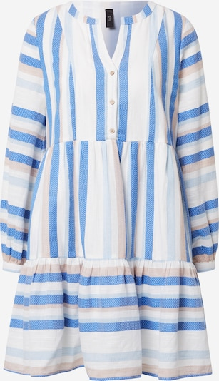 Y.A.S Kleid 'FENJA' in beige / blau / hellblau / weiß, Produktansicht