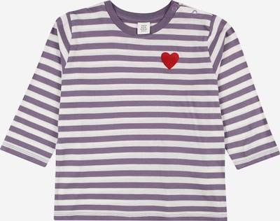 Kauf Dich Glücklich Kids Shirt in helllila / rot / weiß, Produktansicht