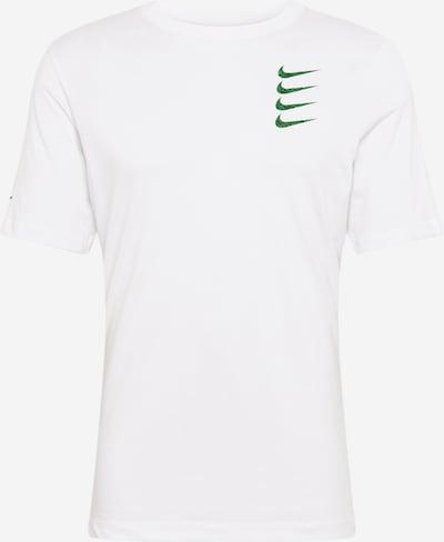 NIKE Tehnička sportska majica u zelena / bijela, Pregled proizvoda