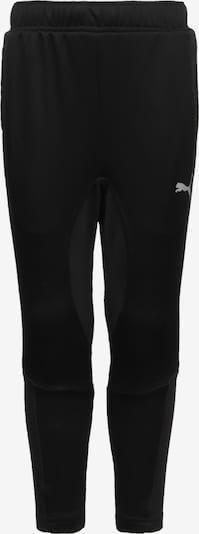 PUMA Pantalon de sport 'Active Sports Poly' en noir / blanc, Vue avec produit