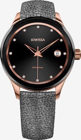 JOWISSA Analoog horloge 'Tiro Swiss Ladies Watch' in de kleur Zwart: Vooraanzicht