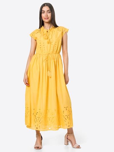 Y.A.S Robe 'RIMO' en jaune, Vue avec modèle