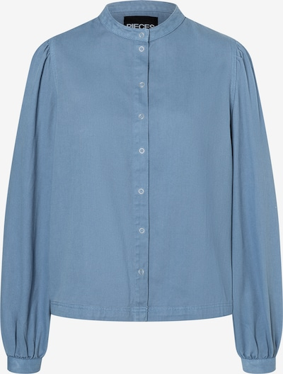 PIECES Blouse 'Pali' in Light blue, Item view